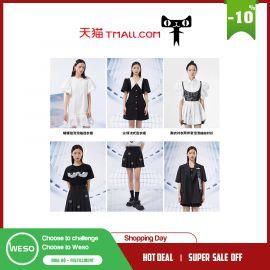 Váy tay áo phồng ngọt ngào Ban Xiaoxue