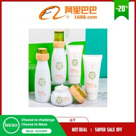 Bộ 5 món mỹ phẩm chăm sóc da Lizia chiết xuất thực vật thảo dược dưỡng ẩm