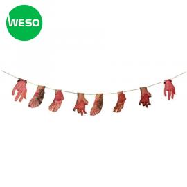 """Halloween Trick or Sales"" | Chuỗi tay máu mô phỏng Halloween"