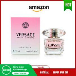 Nước hoa nữ mini pha lê sáng Versace