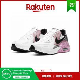 Giày thể thao nữ Nike Air Max EXCEE CD5432 109: NIKE trắng x hồng