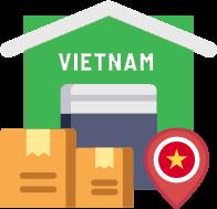 Hàng về Việt Nam & tiến hành giao đến quý khách