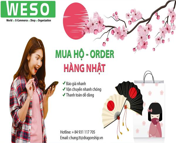 Mua hàng trực tuyến từ Nhật - Nhận hàng nhanh tại nhà